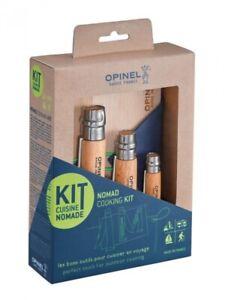 Opinel-Outdoor-Set-NOMAD-Picknick-3-Messer-rostfrei-Sandvik-Edelstahl-5-teilig