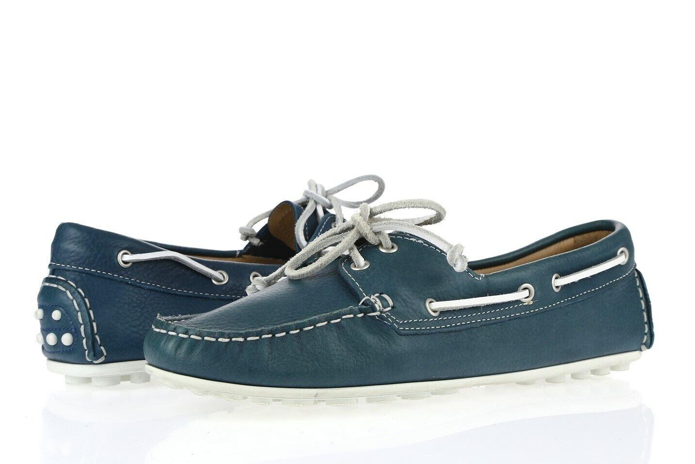 donna ECCO  CUNO LADIES 227862 Denim blu Leather Boat scarpe Sz.38  best-seller