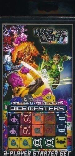 DICE MASTERS DC WAR OF LIGHT 2-PLAYER STARTER SET 10 Decks