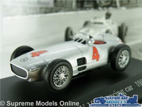 MERCEDES BENZ W 196 R MODEL RACING CAR 1954 SILVER 1:43 SCALE IXO NO 4 W196 K8