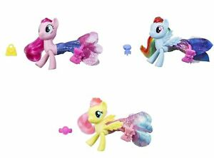 my little pony land sea fashion pinkie pie rainbow dash
