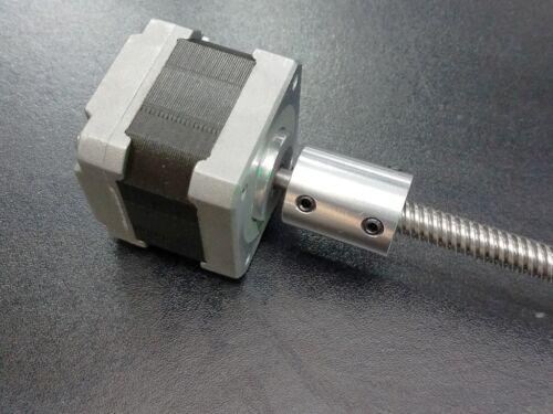 5 X 5MM Aluminum Rigid Set Screw Shaft Coupler Coupling CNC Linear Motion Nema17