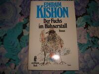 buch roman ephraim kishon der fuchs im hühnerstall