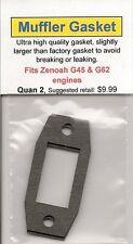 Zenoah G45 & G62 Exhaust/Muffler Gasket 2 Pack NIP