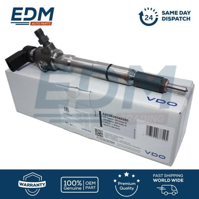 Echt VDO Diesel Injektor für Audi Seat Skoda VW 1.6TDI 03L130277S 03L130277B Neu