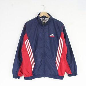 Détails sur Vintage Pour Homme Adidas EQT Nylon Piste Survêtement Haut Veste L Rétro Coquille Bleu 5274 afficher le titre d'origine
