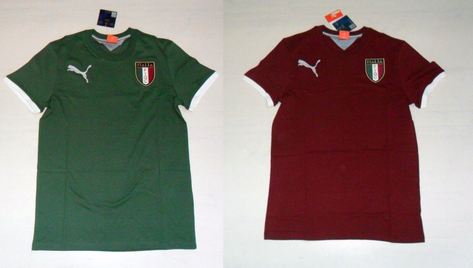 3515 PUMA ITALIEN T-SHIRT BADGE TEE T-SHIRT BAUMWOLLE ERSTE '14 ITALIEN 745207