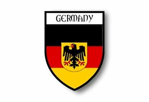 Sticker-Car-Motorbike-Coat-of-Arms-City-Flag-Germany-Eagle-German