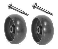 John Deere Deck Wheels L118 L111 L108 LA100 LA105 LA110 W//Bolt /&Nut 4 New FOUR