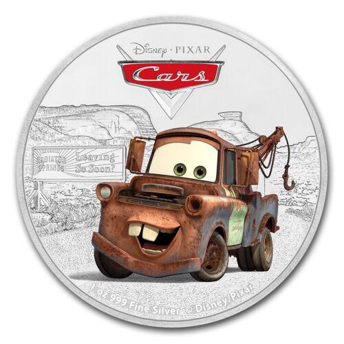 2017 Niue 1 oz Silver $2 Disney Pixar Cars Tow Mater