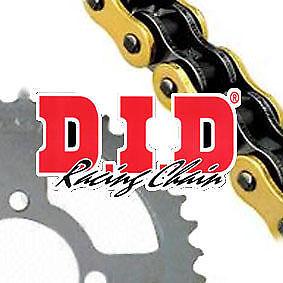 DID VXGB X-Ring Gold Chain /& JT Sprocket Kit Aprilia RSV1000 R 2004-2011