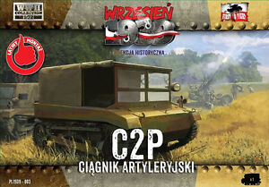 Wrzesien-1939-September-1939-C2P-Armored-tractor-1-72-Model-Kit
