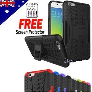 los angeles a8f91 c31af Details about For Oppo R9S | R9S Plus Heavy Duty Shockproof Hybrid  Kickstand Tough Case Cover