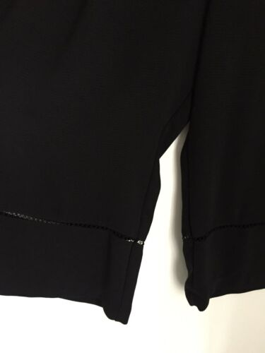 Divided Size Large Zara Culottes Black Skirt qwFHFz