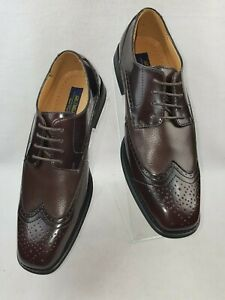 La-Milano-034-A92005-034-Men-039-s-Lace-Up-Oxford-Leather-Wing-Tip-Dress-Shoes