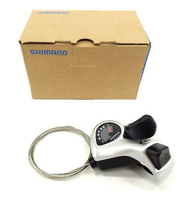Shimano TX50 3 Speed Left Hand Bike Bicycle MTB Gear Thumbshifter Friction