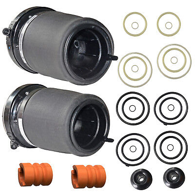 Pair Front Air Suspension Spring For BMW X5 E53 3.0i 37116757502 37116761444