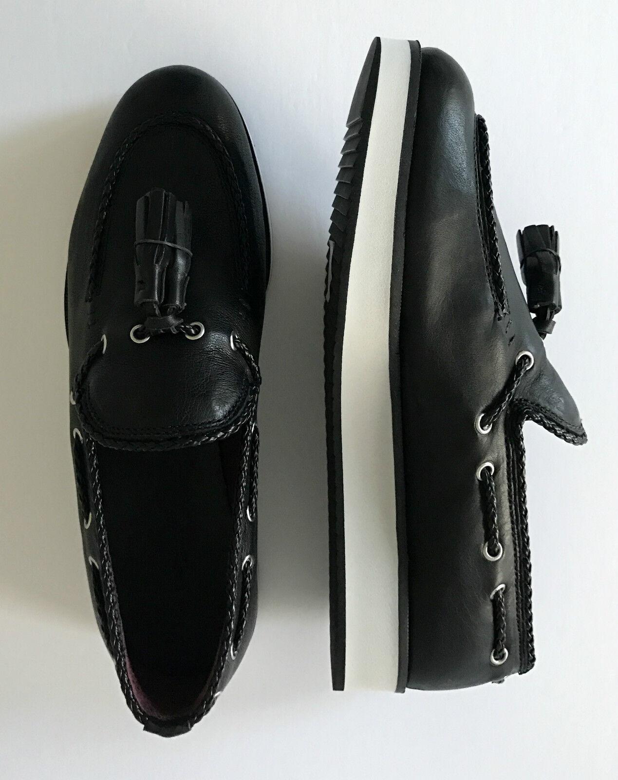 Rag & Bone MCKENZIE Platform Platform Platform Loafer Flat Black 38 38.5 40 NIB  395 ffdcd7