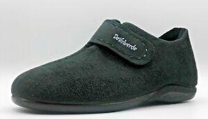Ladies Ankle Boot Slipper  -  DeValverde - 9712 Negro (Black)