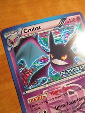 NM Prerelease STAFF Pokemon CROBAT Card Black Star Promo BW51 Plasma Storm TCG