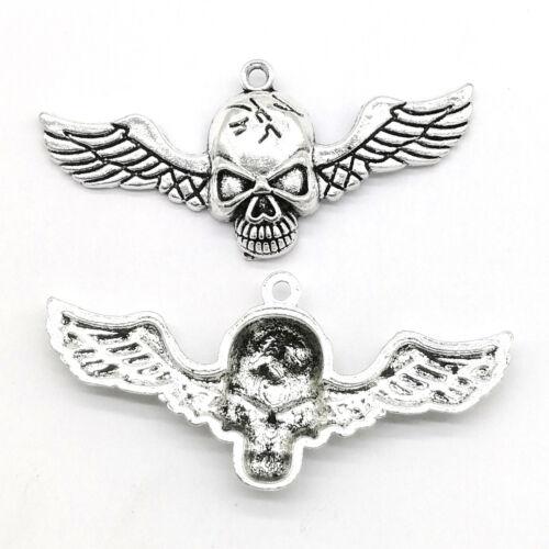 Taro Angel Tibetan silver charms lot pendentifs perles 6//20//100pcs