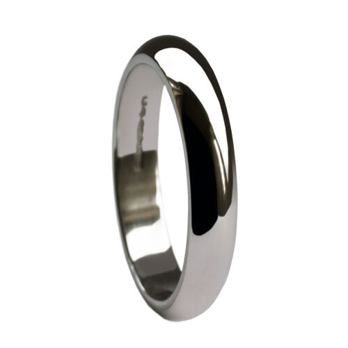 3mm 950 Platinum Wedding D Profile Rings UK HM Med Heavy /& X Heavy Shaped Bands