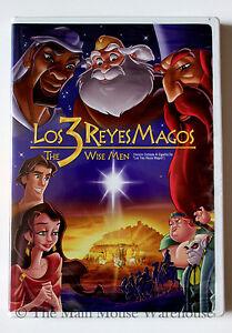 Los Tres 3 Reyes Magos Caricatura De Biblia Navidad Disney Dvd