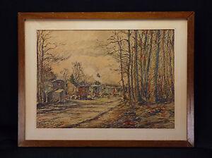 Fernand-Laval-1886-95-1966-Post-Impressionismus-1933-Compiegne-Anhaenger