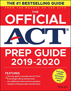 The Official ACT Prep Guide 2019-2020, Book + 5 Practic