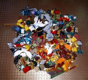 5-differents-LEGO-Legends-of-Chima-Personnages-avec-Accessoire-Arme-Minifig