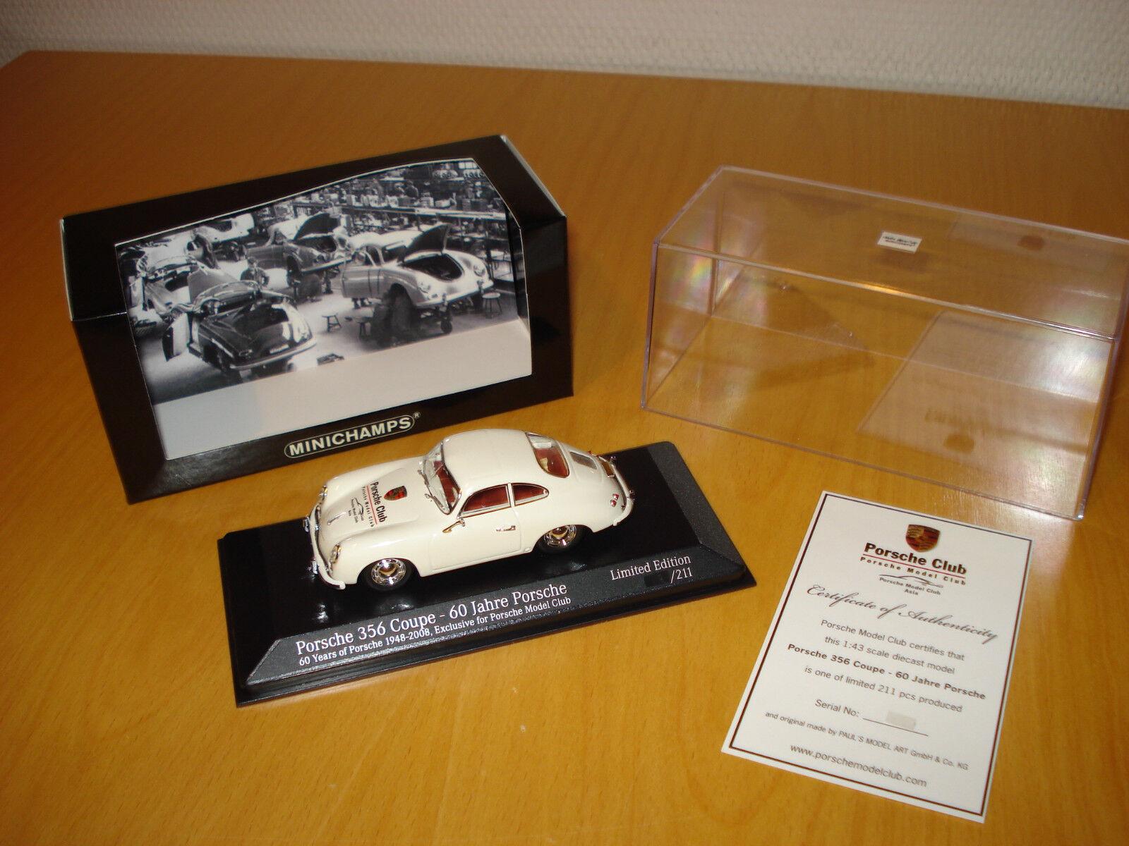 ►Promo Porsche 356 Porsche Model Model Model Club Asia   60 Jahre Porsche 1948 - 2008 ◄  |   356fc3