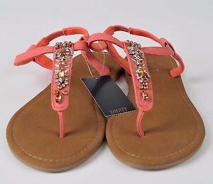 e657298e128e Women s Embellished Jeweled Casual Beach Sandals T Strap Thong Flip ...