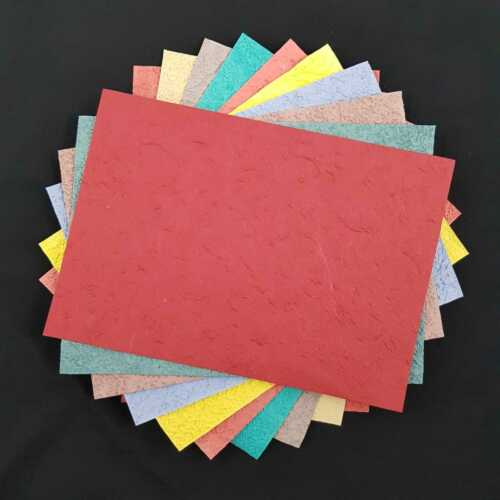 A4 10 x Sheets Heavy Thick Paper Textured  Craft Cardmaking scrapbook wrapping