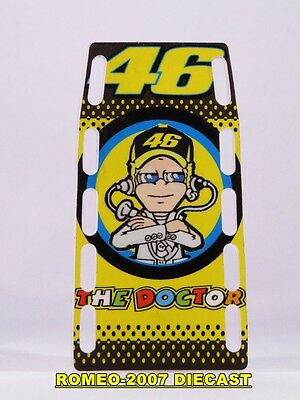 1:12 Pit board Pitboards Valentino Rossi Yamaha TAVULLIA 46 2013 no minichamps
