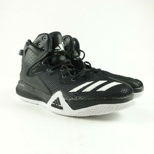 48cdab10c Adidas Men s DT Bounce Basketball Shoes Size 7.5 Black White AQ7288 ...