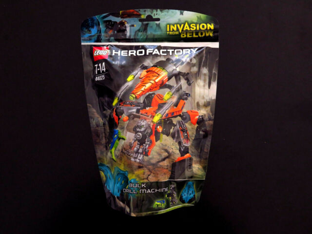 LEGO Hero Factory Bulk Drill Machine 44025 Invasion From Below, Sealed, Cocoon