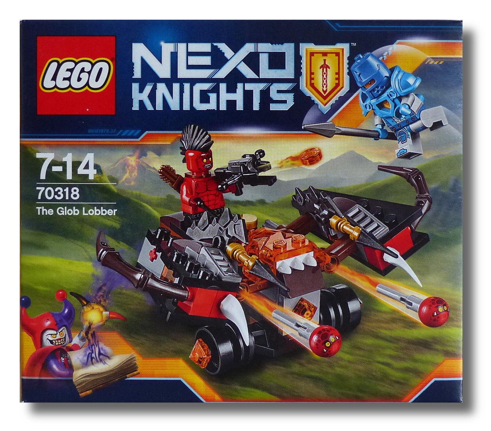LEGO® NEXO KNIGHTS™ 70318  10 x Globlin Armbrust  FlamSiewerfer NEU OVP NEW MISB
