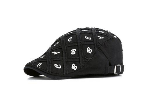 Schiebermütze Golfmütze Mütze Barett Hut Gatsby Flatcap Cap Kappe Schirmmütze