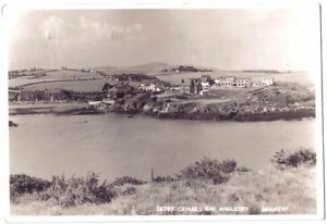 Cemaes-BAY-NORTH-Anglesey-WELSH-WALES-OLD-PHOTO-POSTCARD-1962