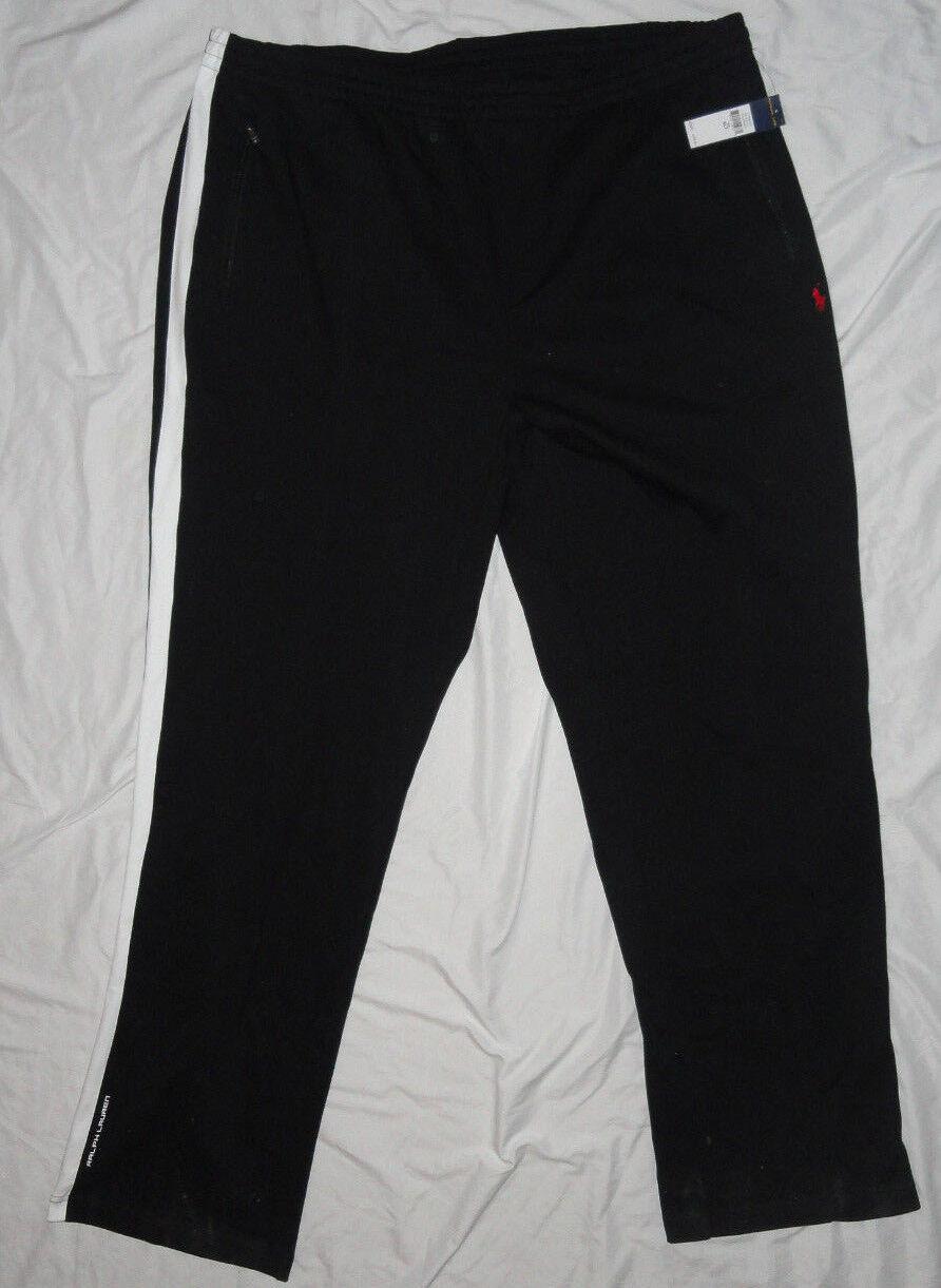 nuevo  RALPH LAUREN  Pantalones Big & Tall 4X 4XLT 4XL Negro blancoo  nuevo con etiquetas   125  con 60% de descuento