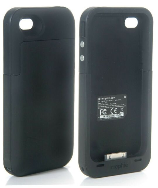 Mophie Juice Pack Plus for iPhone 4 4G 4S Rechargeable Battery & Case