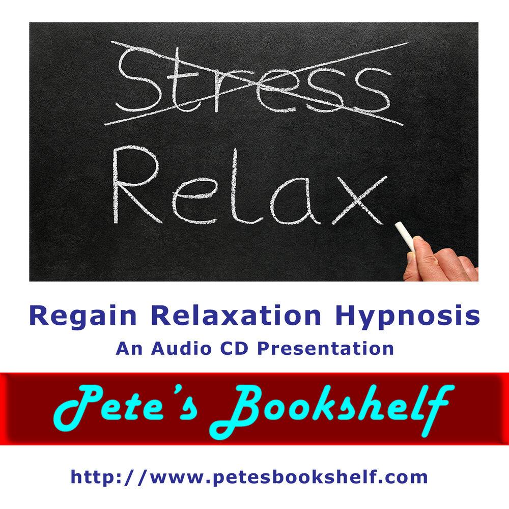 Regain Relaxation Hypnosis NLP - Audio CD