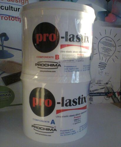 Pro-lastix Prochima prolastix elastomero ultraelastico atossico  1:1 shore 40