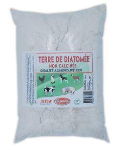 Terre-de-Diatomee-Sac-d-039-1Kg-Non-calcinee-Alimentaire-E551-100-Naturelle