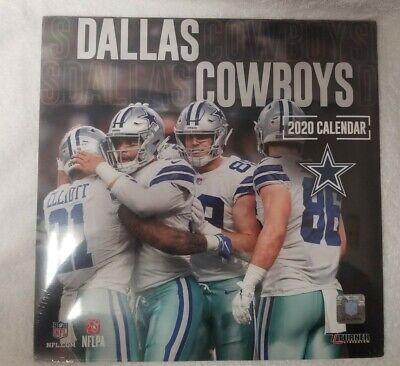 NFL Dallas Cowboys 2020 Wall Calendar | eBay