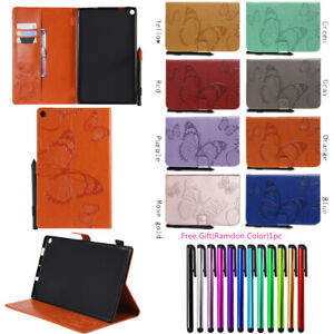Details about Butterfly Leather Wallet Case Cover For Kindle Paperwhite 1 2  3 4 Fire HD 10 7th