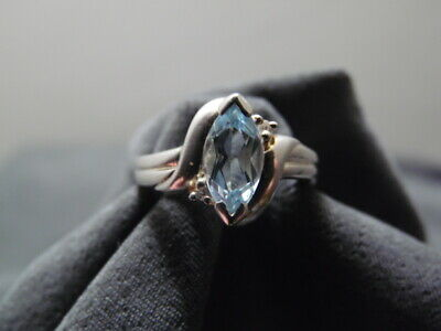 the real stones have been polished Vintage sterling silver /& turquoise stone ring size 7 sterling ring from Thailand