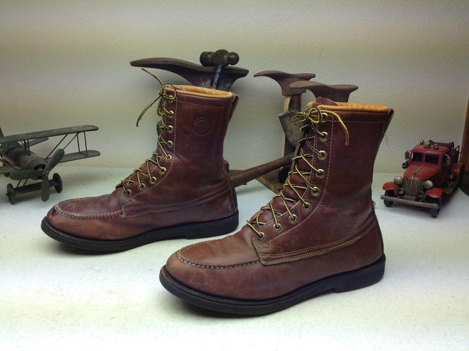 Herman Survivors Color Marrón 20 Bajo Cero De Cuero Envejecido lazada botas 12