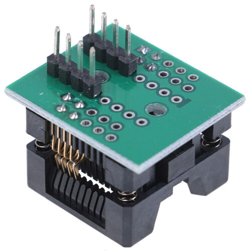 SOIC8 SOP8 to DIP8 Wide-body Seat Wide 150mil 200mil Programmer Adapter Socke*WP