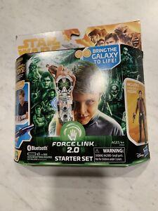 Disney Star Wars Force Link 2.0 starter set NEW Includes Han Solo Action Figure